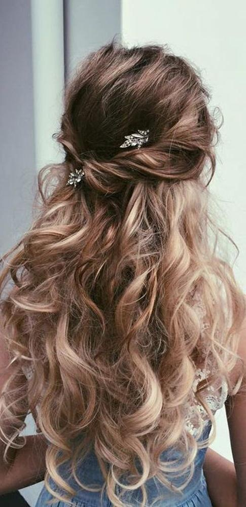 2018 Popular Wedding Hairstyles For Long Hair