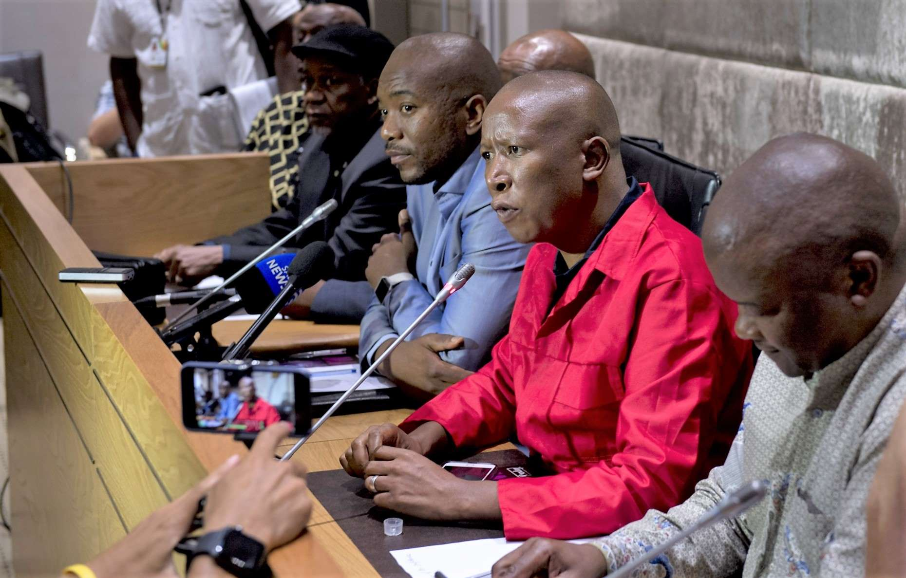 Julius Malema and the peoples bae, the best bromance in South Africa